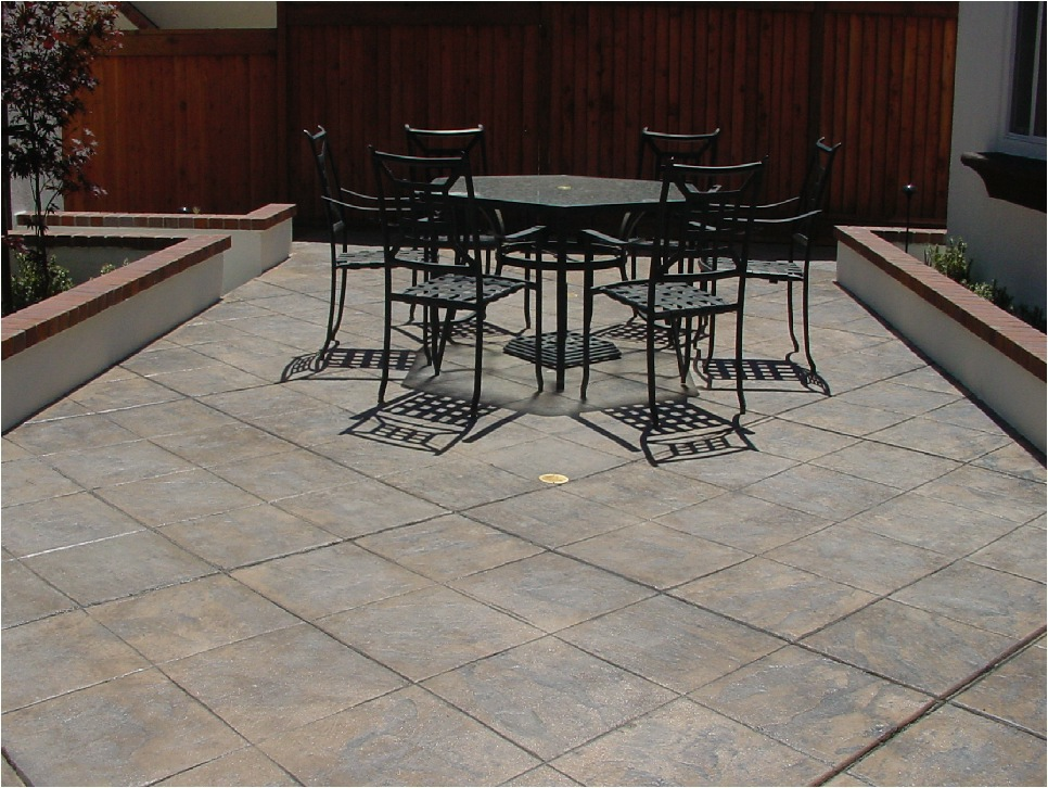 Stamped Concrete Finishes